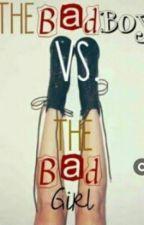 Bad Gril vs Bad Boy by adventiaangelica