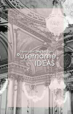 Aesthetic Usernames Tumblr