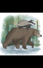 Badger and Bear by ellie-write