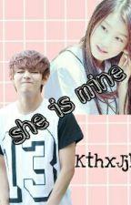 She is mine!-->vkook/taekook by -babybaby-