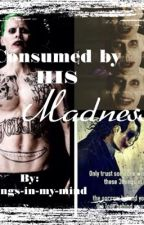 Consumed by his madness(the Joker) by Writings-in-my-mind