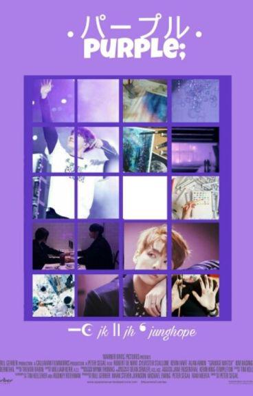 パープル . purple; ━☪ jk ⅼⅠ jh ❛ junghope ❜