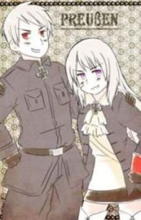 Sister! Reader X Brother! Prussia-not mein awesome hair