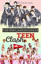 Teen Clash:  [EXO vs. SNSD] (ONGOING)♥ [ft. f(x) & SHINee] (EXOSHIDAE FANFIC) by Taeyeon_Baekhyunnie