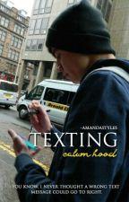 texting ;; calum hood by -AmandaStyles