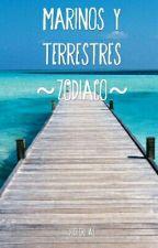 Marinos y Terrestres (Zodíaco) by u-unicoorn