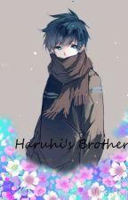Haruhi's Brother ( OHSHC male OC ) by SugarTone