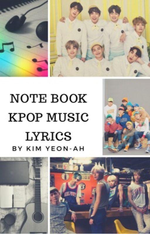Note Book Kpop Music Lyrics by KimYeon-ah