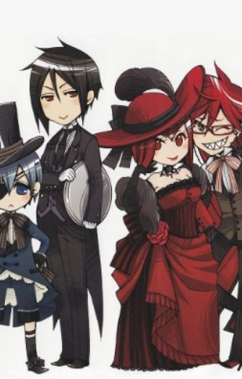 Anime Characters React Fanfiction : Black butler characters react to ships lonely hearts