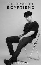 The TYPE of Boyfriend #1→ Monsta x by _thclan