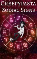 Creepypasta Zodiac Signs by NaellinePanda