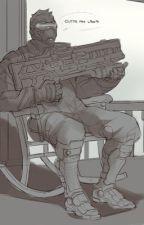 Overwatch x Reader by BloodyAngelJay
