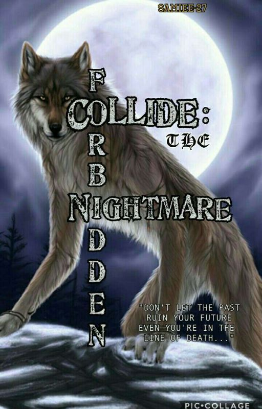 COLLIDE: THE FORBIDDEN NIGHTMARES by SamanthaNicole366