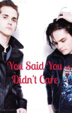 You Said You Didn't Care (ON HOLD) by McrTrashboat