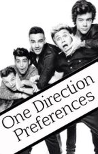 One Direction Preferences / Imagines (Book 1) by 5LittleDirectionsLou