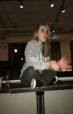sweater blue :: lashton by brillitos-
