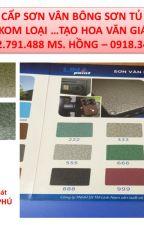 Nơi Bán Sơn Vân Bông Cho Cửa Sắt Gía Rẻ Tại Tp.HCM Có màu vàng trắng đỏ đen xanh by thuyhong556677