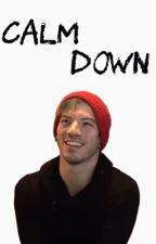 calm down // josh dun by dancingallalone