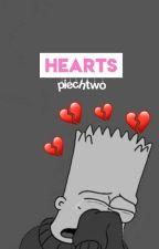 Hearts  ☞ bts + rv by wxxhite
