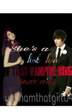 She's A Lost Love Of That Vampire King ( Secret Revels) Slow Update by yeahamthatgirl04
