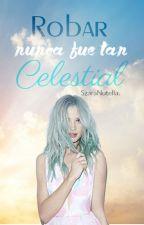 La del Cabello Celeste. by SzaraNutella