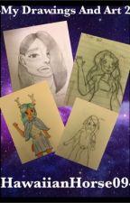 My Drawings and Art 2 by hawaiianhorse09