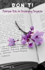 DON'T! Melempar Buku ke Pengiring Pengantin by DominiqLa