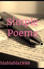 Simple Poems by blablabla1998