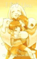 I LV You: Chara x Sans  by CharaTheDemonChild7