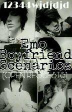 Emo Boyfriend Scenarios (OPEN REQUESTS) by 12344wjdjdjd