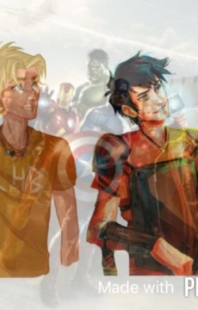 Percy Jackson And The Avengers  by MaddieStormHeart