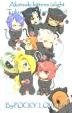 Akatsuki Kittens (slight Tokyo Ghoul crossover) by POCKY_LOVER63