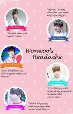 Wonwoo's Headache by WFSrawr95