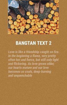 - Bangtan Text - | Part 2 |