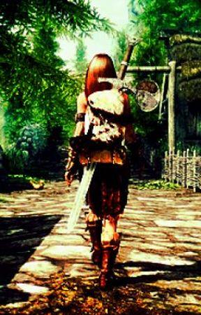 A wandering avengeful soul (Skyrim fanfic) - Saving her ass