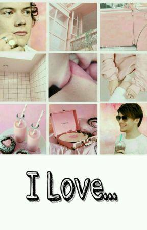 》I Love - Larry Stylinson  ( Harry Tops )《 by flykimin