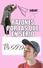 Razones Por Las Que En Serio Te Odio » KaiSoo/KaiDo by ohbany