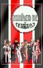 Zodíaco De  Diabolik Lovers  by x_xazulmizukix_x