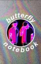 Butterfly Notebook (Joshler BG Translation) by sparklyblood