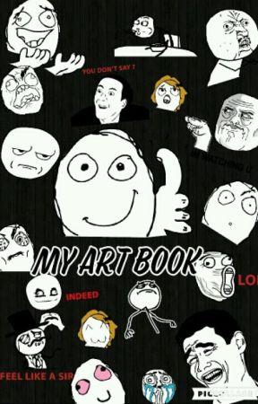 my art book well pic callage wattpad