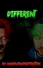 Different [A Superhero AU] - Book One by AngelWingInspiration
