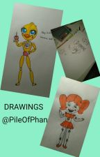 DRAWINGS  by PileOfPhan