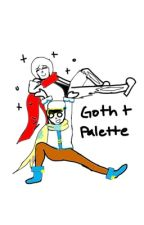 Goth x palette one shot by Owlee16