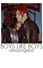 boys like boys † frerard by -amazingiero