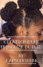 """Citation d'une Princesse du bled """"TERMINER"""" by _capsgerienne_"""