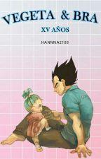 Vegeta Y Bra/ Xv Años by hannna2108