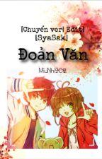 [Chuyển ver/Edit] Đoản Văn [Sakura And Syaoran] by MiuNhi202