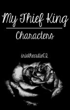 My Thief King- Characters Book (Vampire Academy) by iristhecutie02