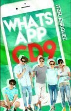 """Whatsapp entre CD9 & Coders"" |CD9| by ItzelEnriquez08"