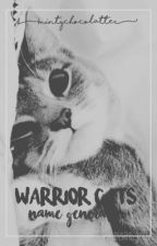 Warrior Cats Name Generator by Mint779